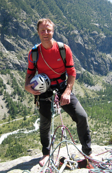 Jerry Gore in the Ecrins, 138 kb