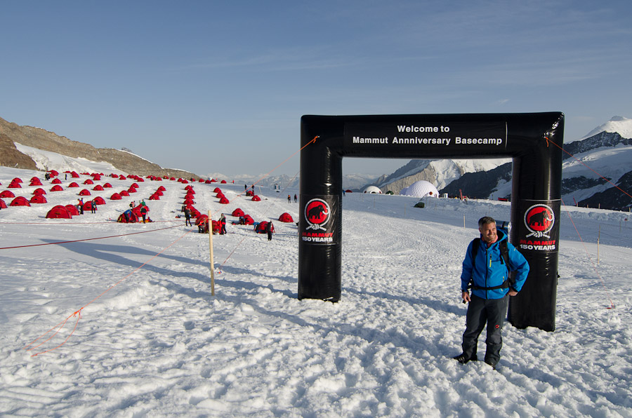 Entrance to the Mammut Basecamp, 178 kb