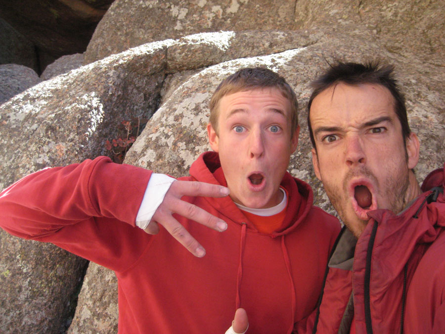 Pete Whittaker and Tom Randall, unleashed and unhinged in Vedauwoo, 162 kb
