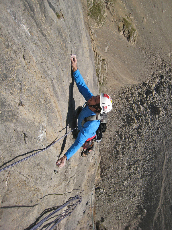 Gaz Parry on the penultimate pitch of Unchi Maka., 208 kb