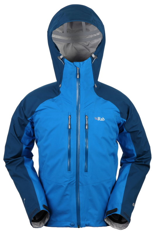 Rab Stretch Neo 480g Polartec NeoShell £270, 57 kb