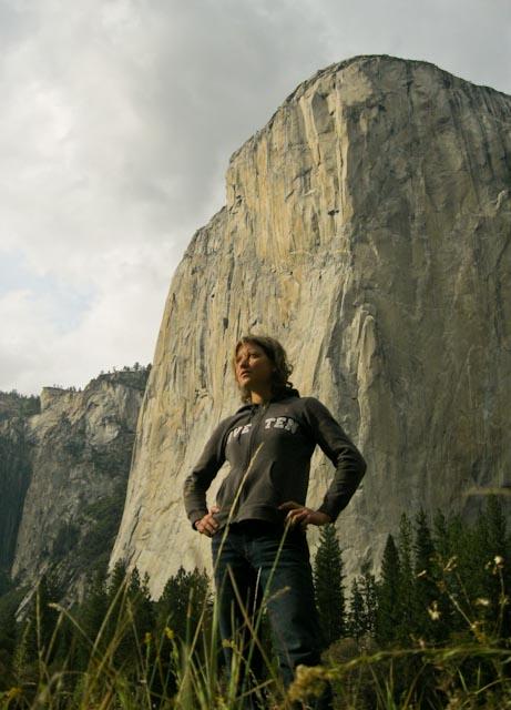 Mayan Smith-Gobat in front of El Cap, Yosemite, 69 kb