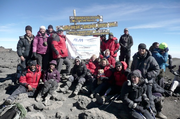 Berghaus Adventure Challenge - Amputee Adventurers, 103 kb