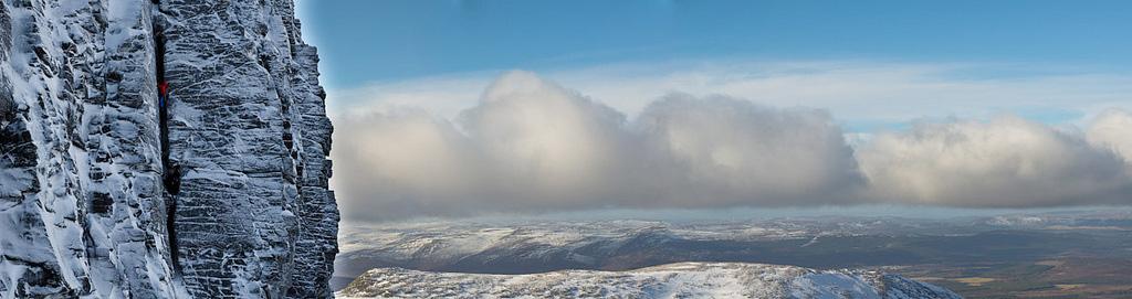 Mammut Eiger Extreme testing in Scotland, 114 kb