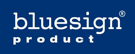 This logo denotes Bluesign product accreditation, 27 kb