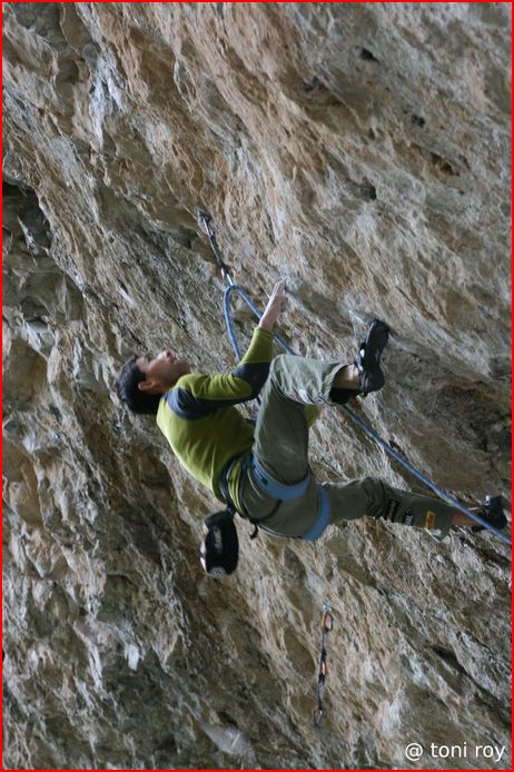 Ramon Julian Puigblanque onsightin The Crew, 8c+, Rifle, CO, 89 kb