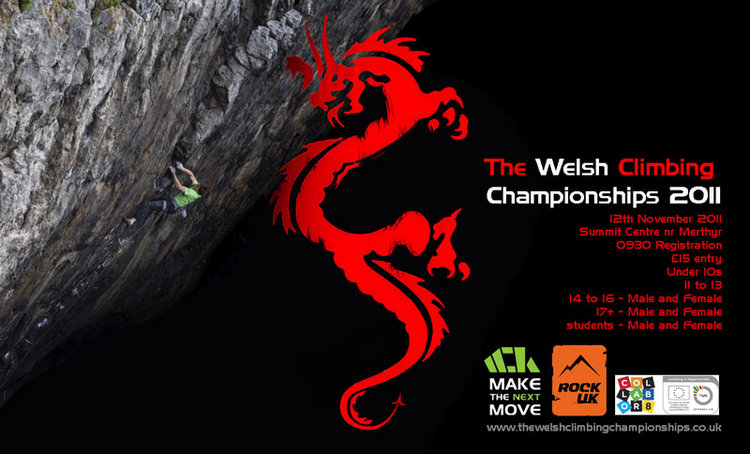 Welsh Climbing Championships: Saturday 12th Nov, Courses, holidays, expeditions, accommodation Premier Post, 4 weeks @ GBP 35pw, 79 kb