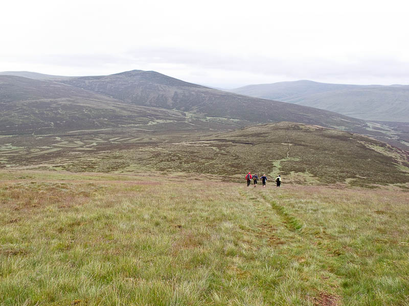 Heading to Great Calva on the first leg of the Bob Graham Round, 112 kb