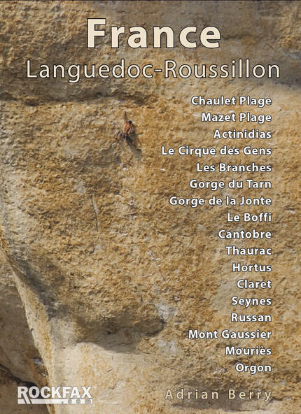 France : Languedoc-Roussillon Rockfax Cover, 172 kb