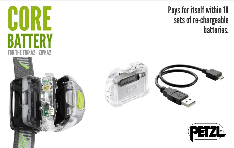 Petzl Core Rechargeable Battery: Tikka2 - Zipka2 #1, 93 kb