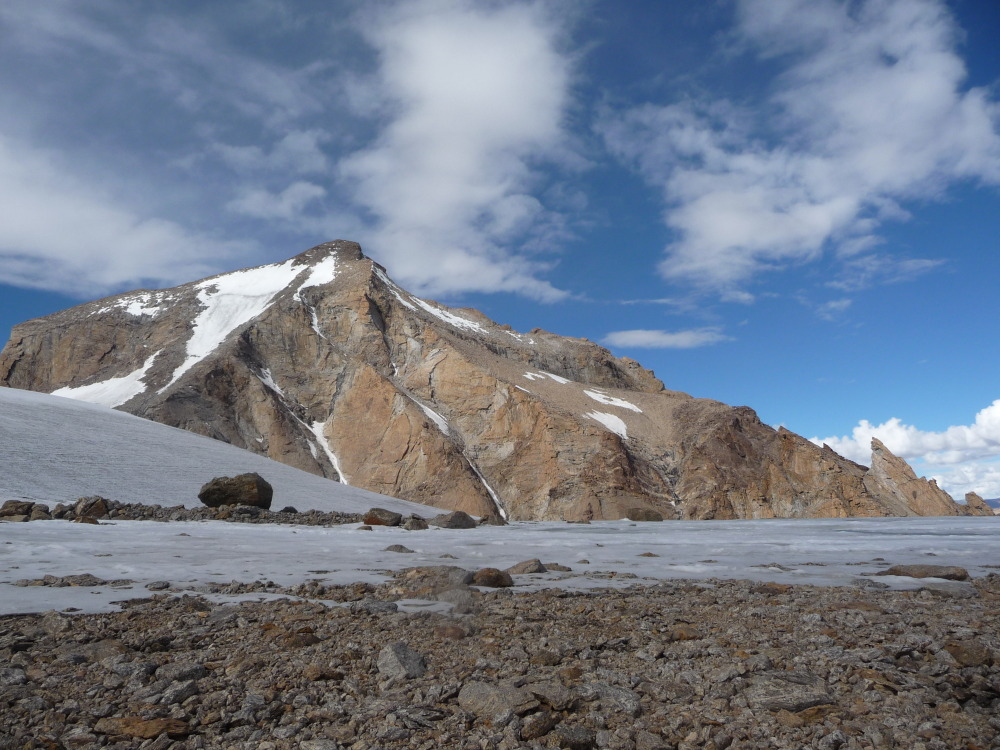 The south side of Lama Jimsa Kangri (6276m)., 227 kb