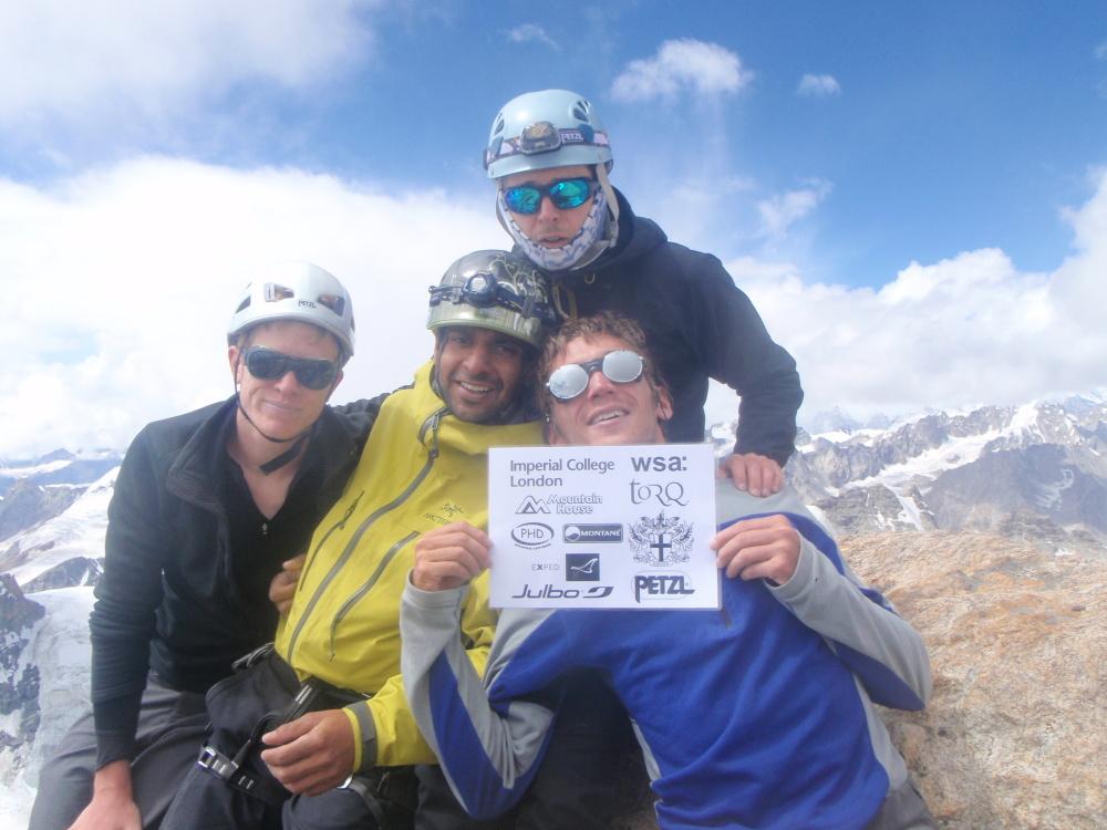 The summit of Lama Jimsa Kangri (6276m)., 219 kb