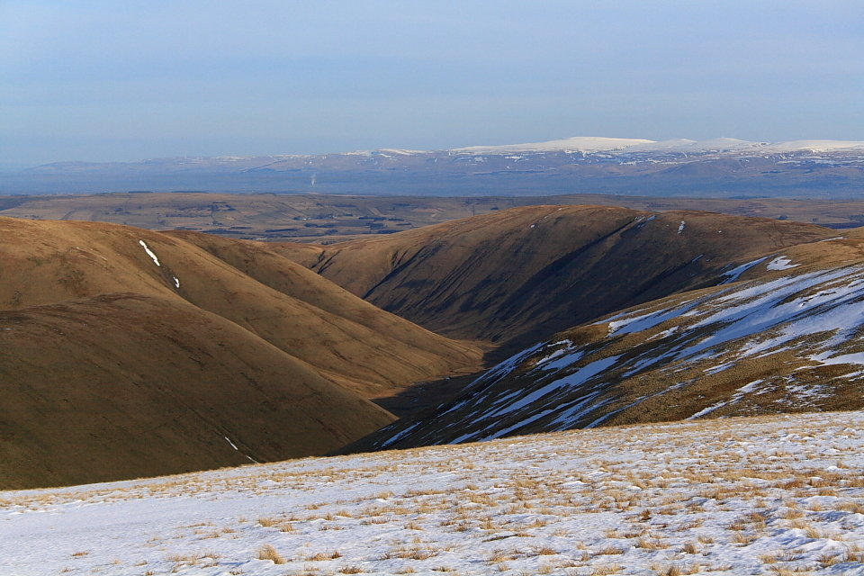 North Pennines from the Howgills, 143 kb