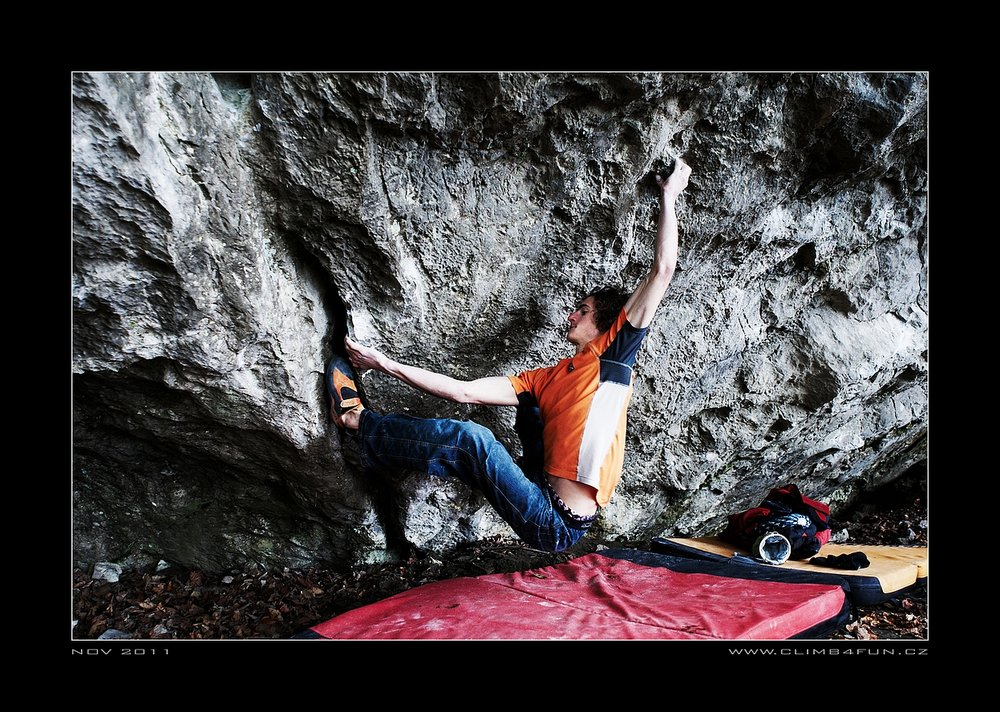 Adam Ondra on Terranova, 8C+, 213 kb