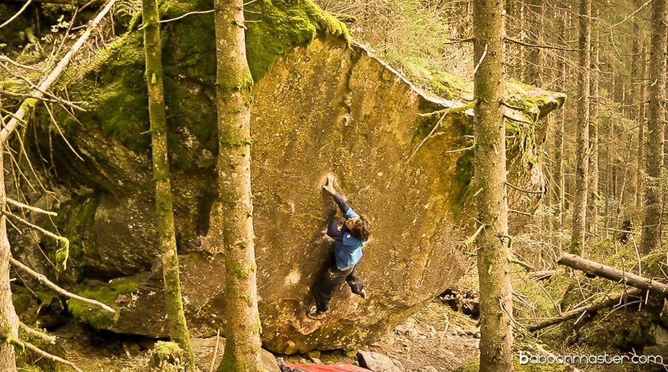 Guntram Jörg on an unnamed 8B+ at Murgtal, 199 kb
