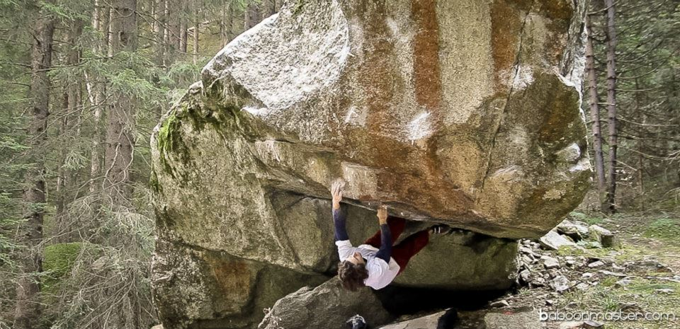 Guntram Jörg on Sur le fil, 8B+, 135 kb