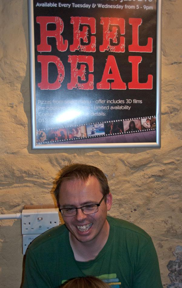 Andy Kirkpatrick - The Reel Deal? at KMF 2011, 112 kb