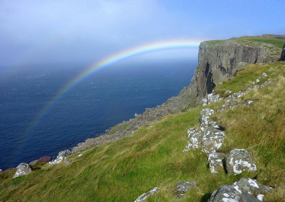 Rainbow over Fair Head, 178 kb