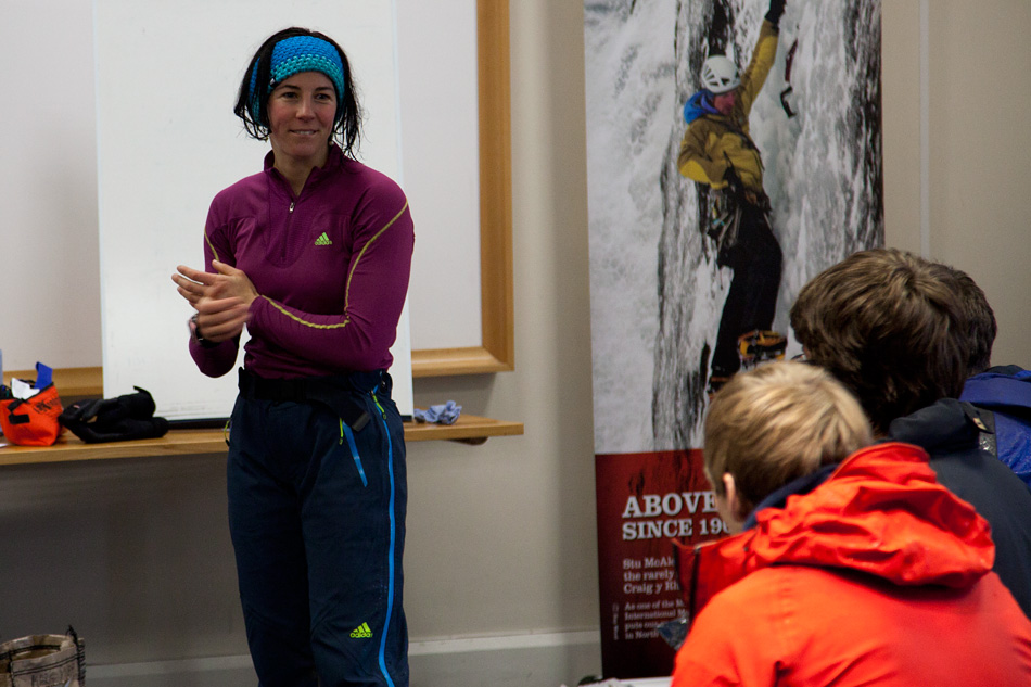Rocio Siemens was on hand to teach winter specific first aid skills, 178 kb