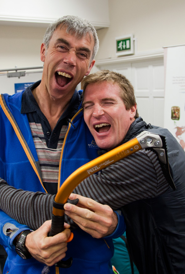 I promised everyone I'd put an embarrasing photo of Phil Dowthwaite and Stu MacAleese online..., 177 kb