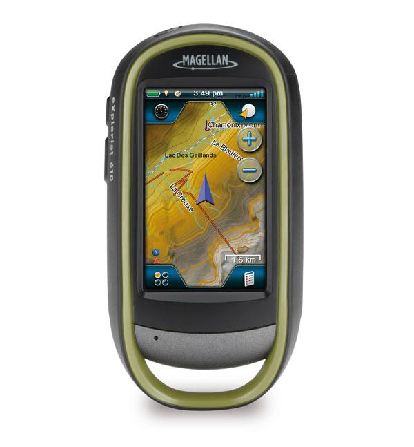 Magellan eXplorist 610 GPS Device, 46 kb