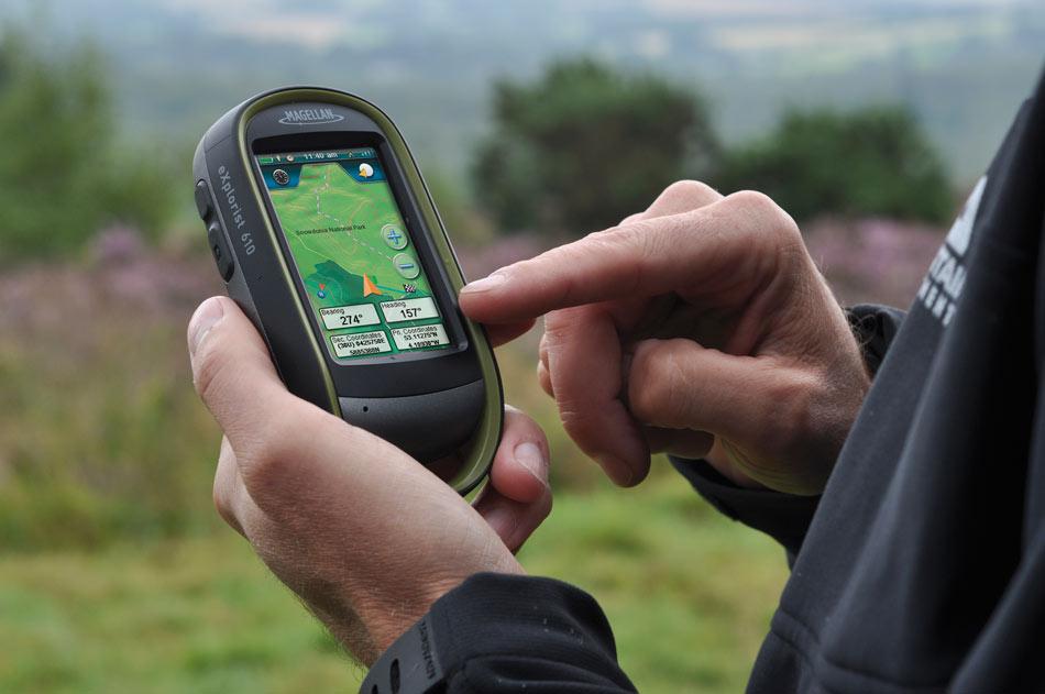 Magellan eXplorist 610 GPS Device - hand held, 75 kb