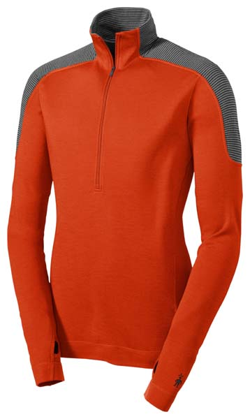 Smartwool Midweight Funnel Zip Base Layer £74.95, 35 kb