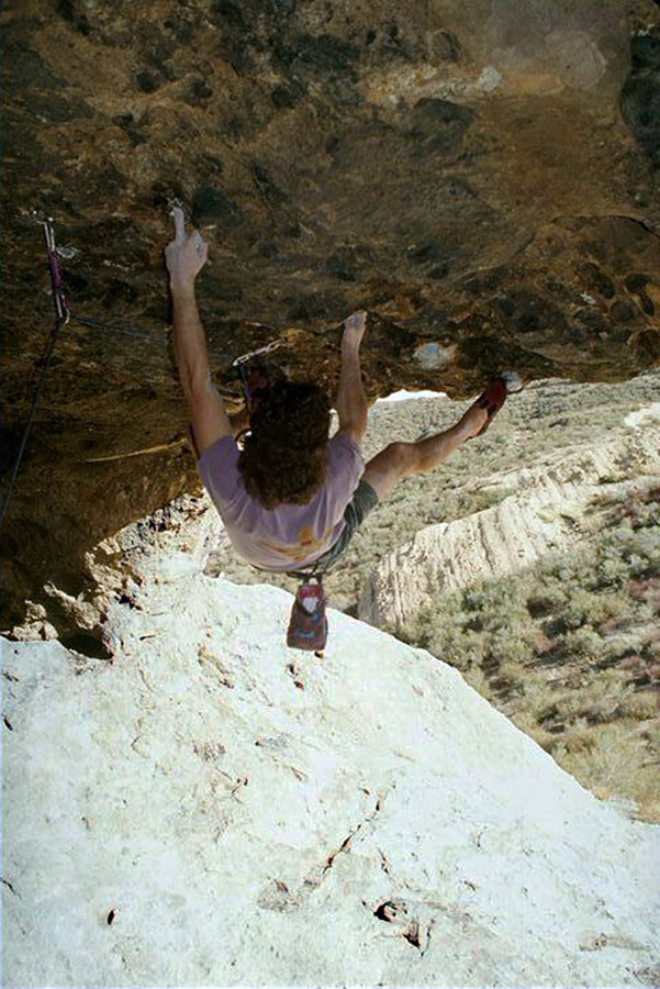 Kevin Thaw - 'Brachiation Dance' first ascent (5.13c) - Southern California , 150 kb