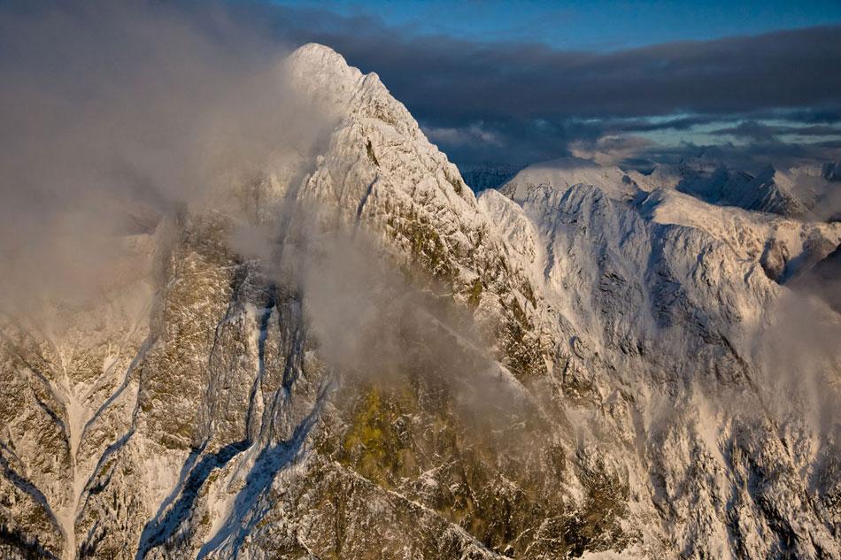 "Hozomeen Mountain, North Peak, ""Zorro"" (West) Face, 160 kb"