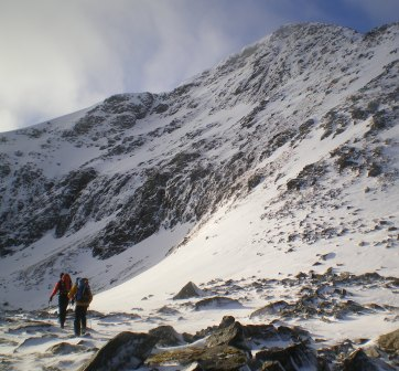 Sgurr Mor, East Face, 40 kb