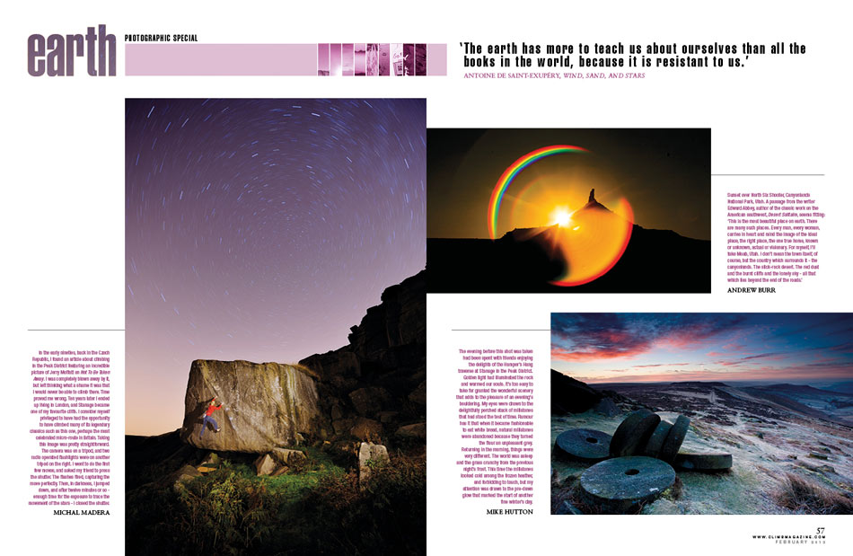 Climb Magazine - February Photography Special - Earth, 111 kb