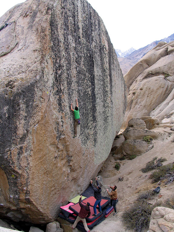 Alex Honnold on Too big to flail, 186 kb
