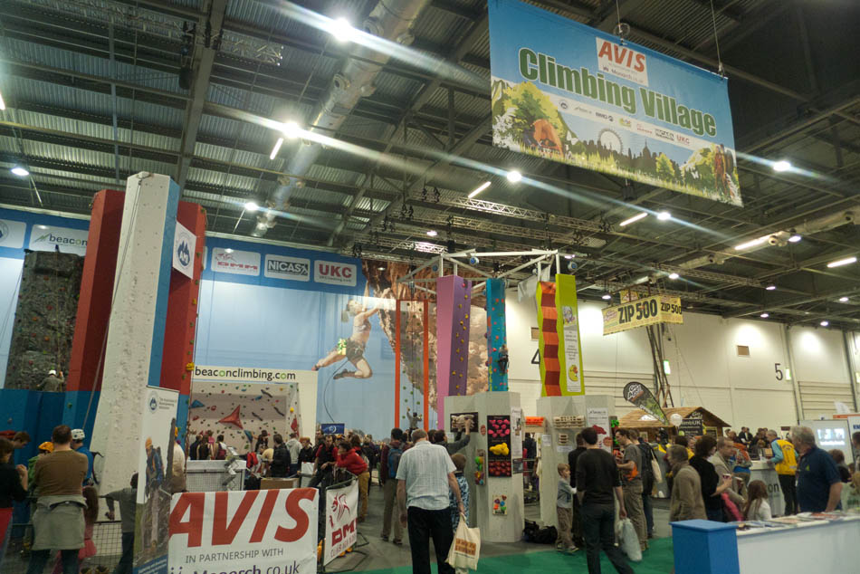 Outdoors Show - the Climbing Village, 144 kb