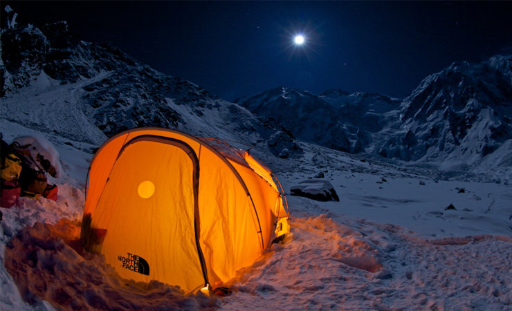 The basecamp under Nanga Parbat, 91 kb