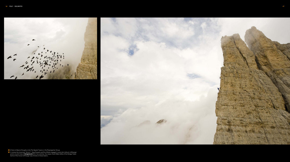 Images of the Dolomites from Rock Odyssey, 119 kb