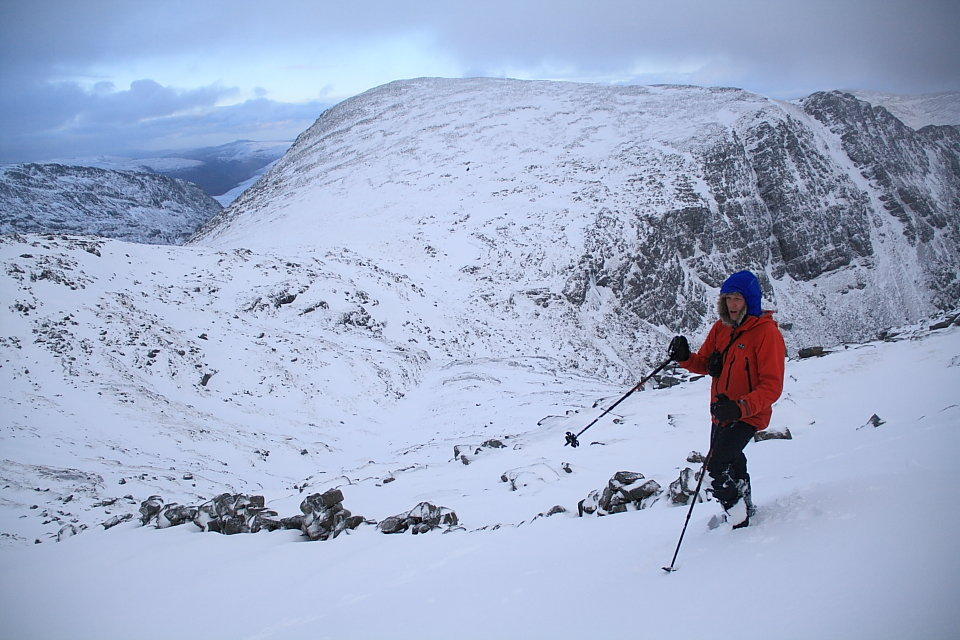 Steve in the Beinn Dearg range, 137 kb