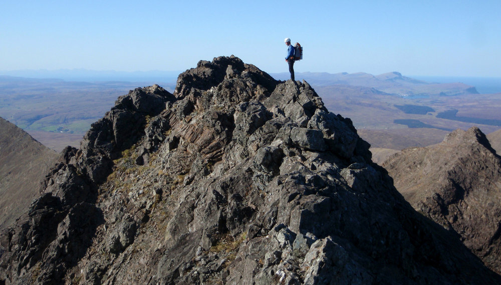 A traverse of the Cuillin Ridge  #1, 161 kb