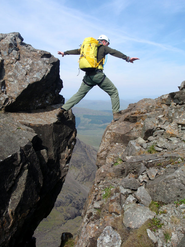 A traverse of the Cuillin Ridge  #4, 148 kb