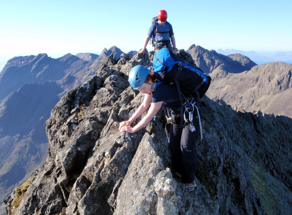Ukc Articles Bmg Route Choice A Traverse Of The Cuillin