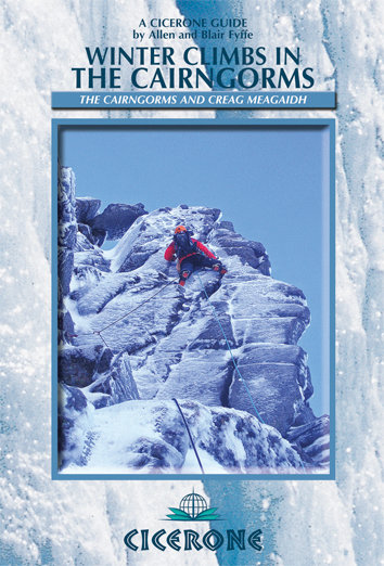 Cicerone Winter Climbs in the Cairngorms cover, 85 kb