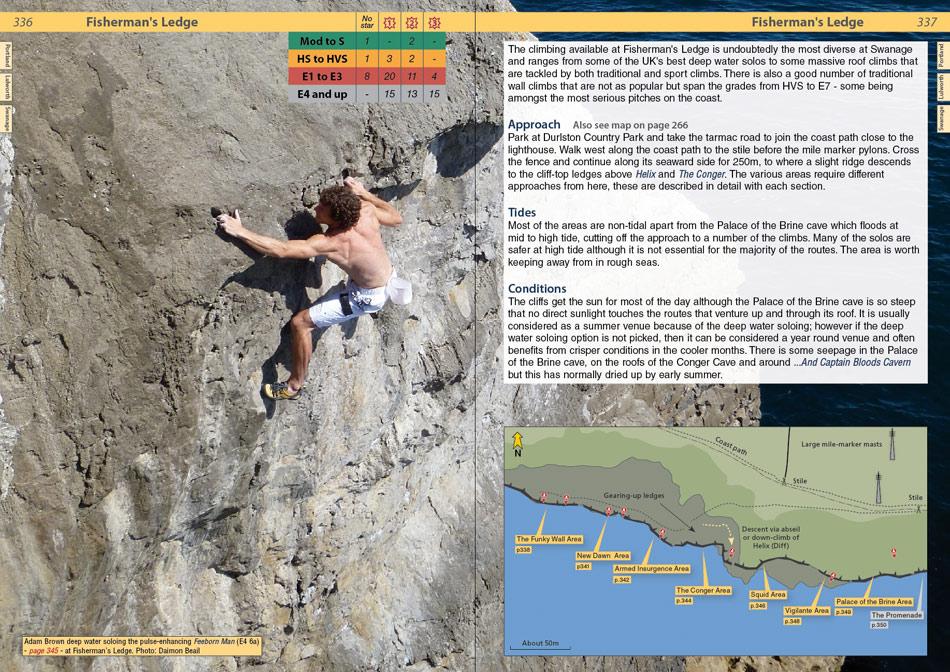 Dorset Rockfax example page 1, 232 kb