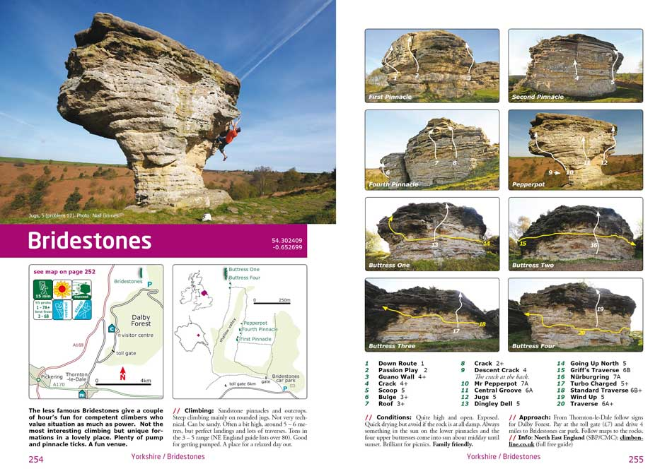 Bridestones (North Yorkshire, near Pickering) Section, 101 kb