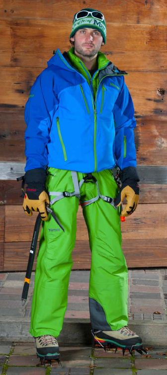 Men's Cerro Torre Jacket, Flight Pants and Exum Guide Gloves, 53 kb