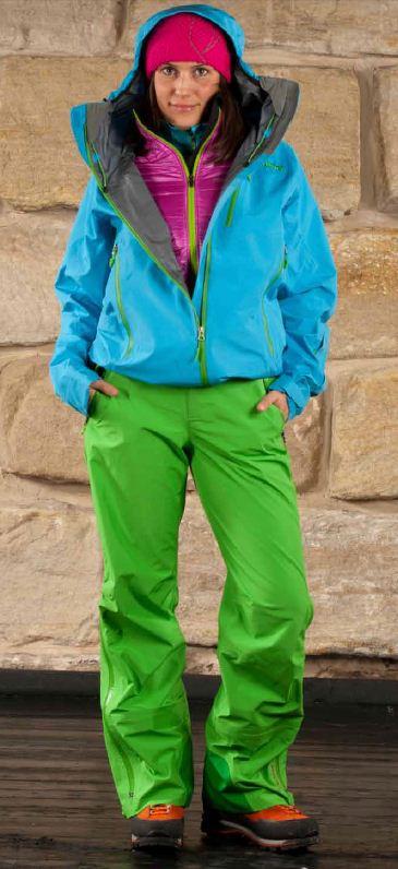 Women's Terminus Jacket, Variant Jacket, Spire Pants, 59 kb