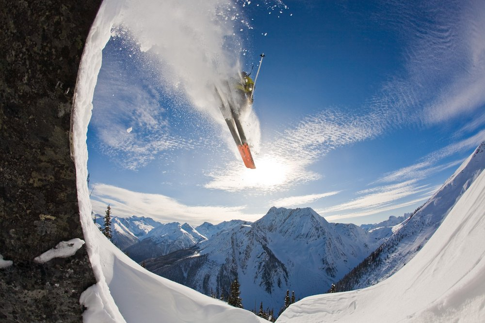 Alex Girard Backcountry Skiing  (c) Ryan Creary, 134 kb