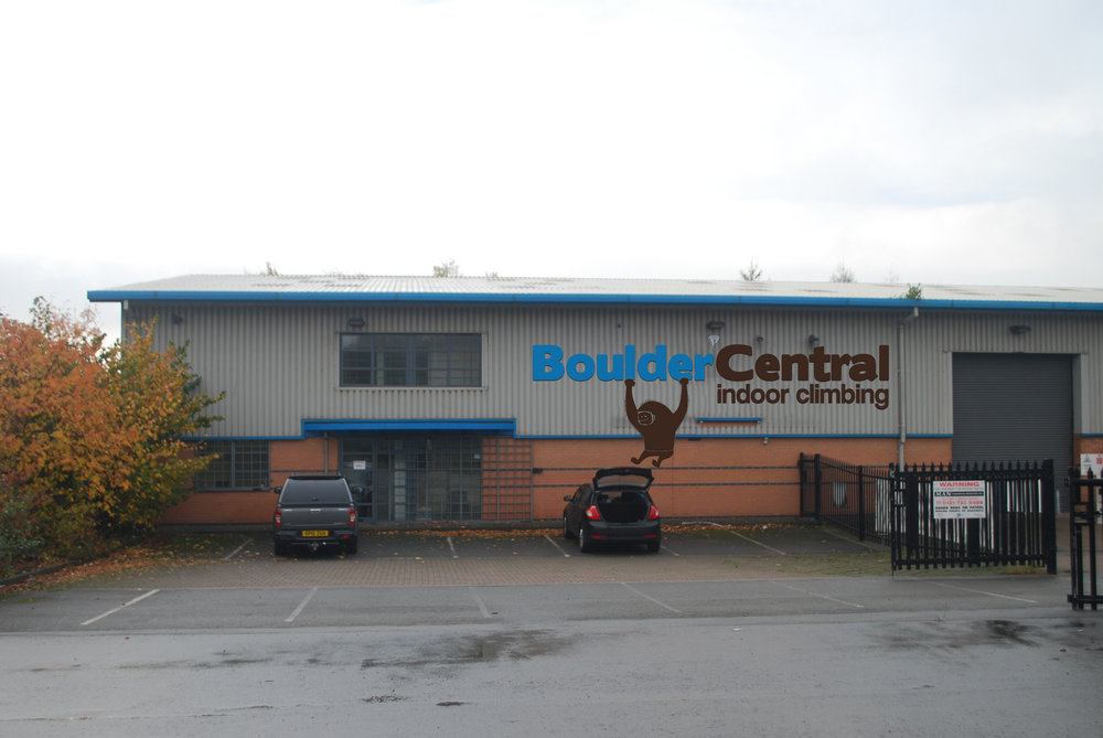 New Climbing Centre for the West Midlands - Boulder Central #1, 110 kb