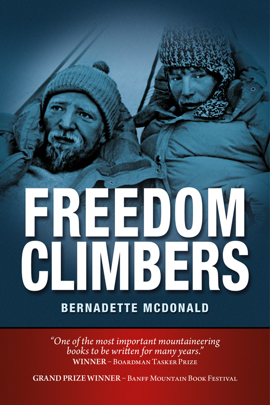 Freedom Climbers Book Cover Image, 157 kb