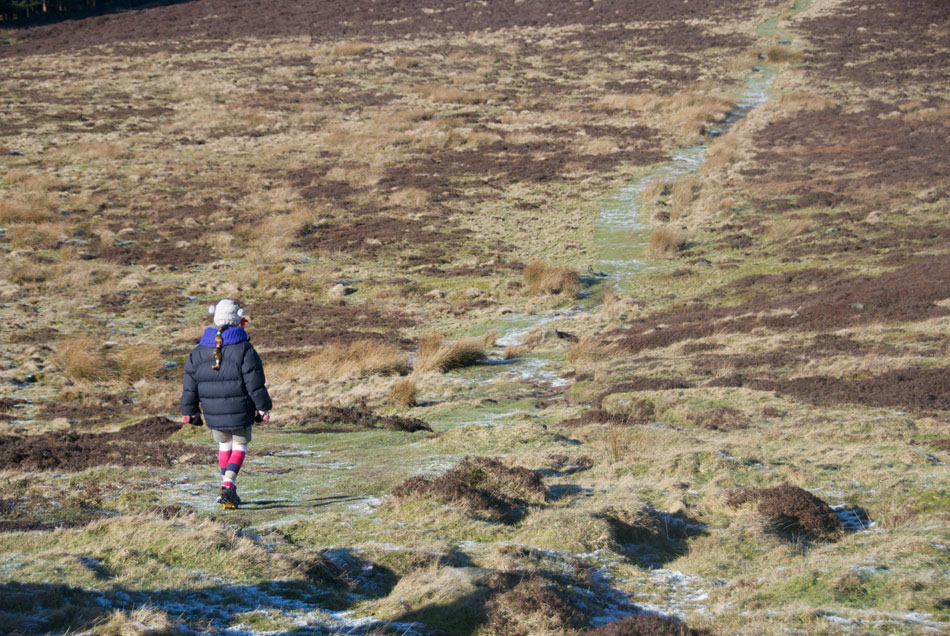Crossing Eyam Moor, 200 kb