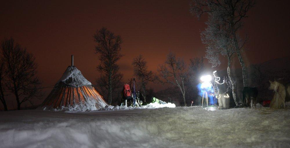 Overnight Lavu camp on the Hardangervidda Plateau, Norway, 61 kb