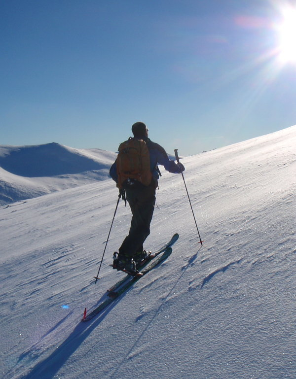 Ski mountaineering in the Cairngorms, 101 kb
